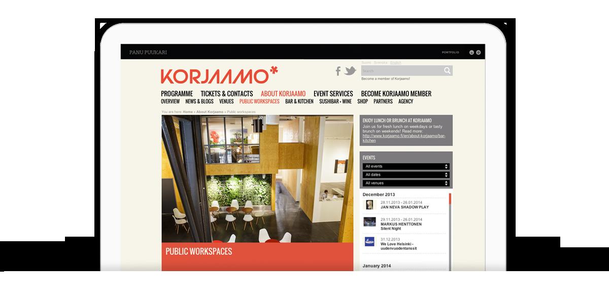 Korjaamo_screenshot